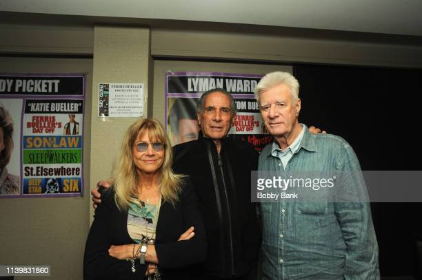 Cindy Pickett Artie Pasquale and Lyman Ward attend the Chiller Theatre Expo Spring 2019 at Parsippany Hilton on April 27 2019 in Parsippany New Jersey