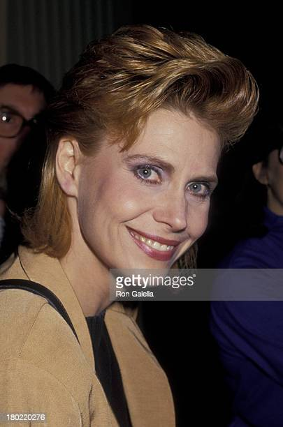 Cindy Pickett attends Amanda Foundation Benefit on October 13 1987 at the Beverly Hills Hotel in Beverly Hills California