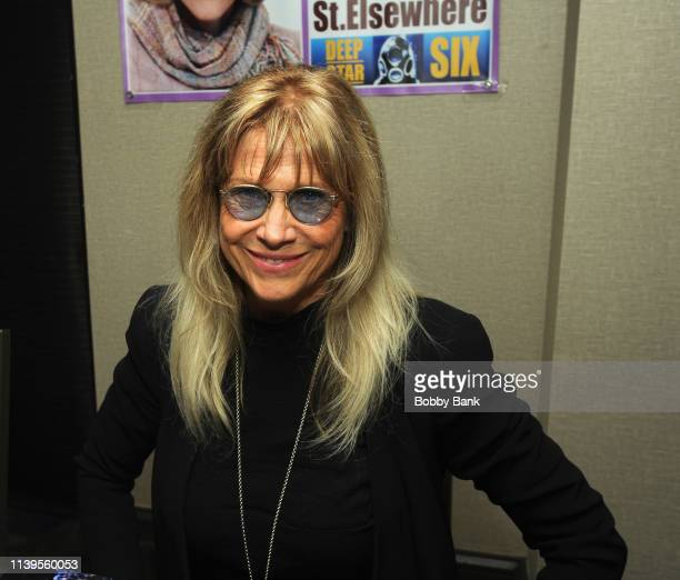 Cindy Pickett attends the Chiller Theatre Expo Spring 2019 at Parsippany Hilton on April 26 2019 in Parsippany New Jersey