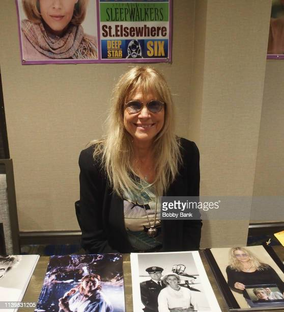 Cindy Pickett attends the Chiller Theatre Expo Spring 2019 at Parsippany Hilton on April 27 2019 in Parsippany New Jersey