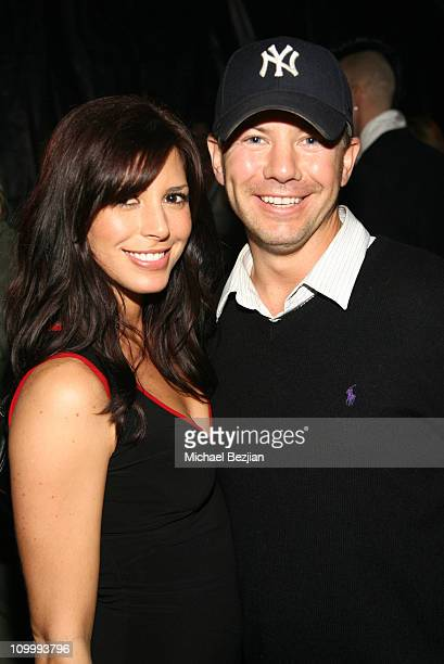 Cindy Sampson and Gordon Bijelonic during Model's Monster Mash Benchwarmer Halloween Party at Memphis Restaurant in Hollywood California United States