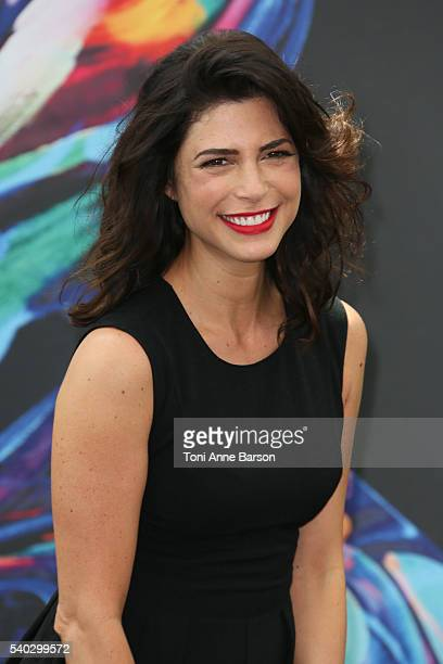 Cindy Sampson attends Private Eyes Photocall as part of the 56th Monte Carlo Tv Festival at the Grimaldi Forum on June 14 2016 in MonteCarlo Monaco