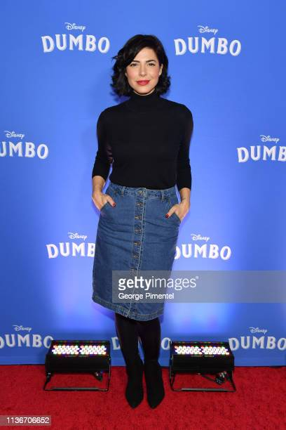 Cindy Sampson attends the 'Dumbo' Canadian Premiere held at Scotiabank Theatre on March 18 2019 in Toronto Canada