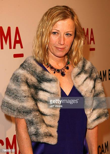 Cindy Sherman attends LACMA's Opening Celebration of the Broad Contemporary Art Museum on February 9 2008 in Los Angeles California