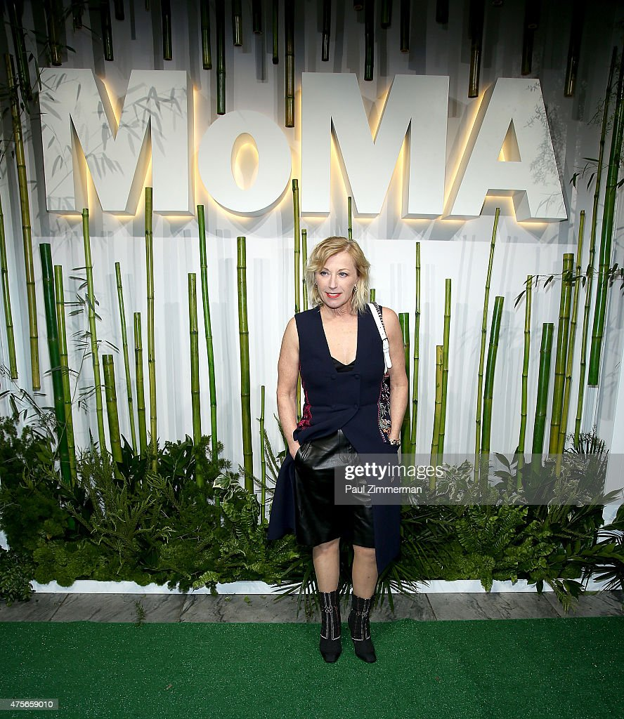 Cindy Sherman attends the 2015 Museum of Modern Art Party In The Garden and special salute to David Rockefeller on his 100th Birthday at Museum of Modern Art on June 2, 2015 in New York City.