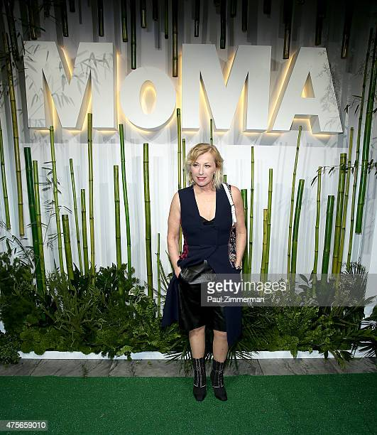 Cindy Sherman attends the 2015 Museum of Modern Art Party In The Garden and special salute to David Rockefeller on his 100th Birthday at Museum of...