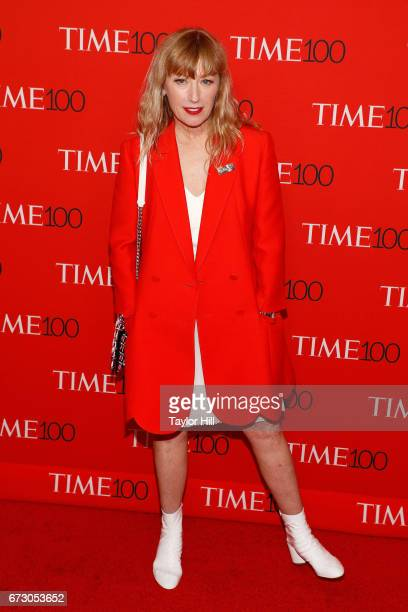 Cindy Sherman attends the 2017 Time 100 Gala at Jazz at Lincoln Center on April 25 2017 in New York City