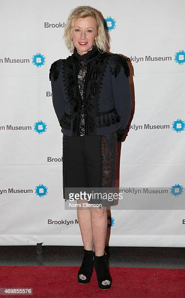 Cindy Sherman attends the Brooklyn Artists Ball at Brooklyn Museum on April 15 2015 in New York City