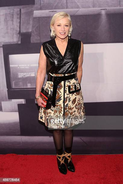 Cindy Sherman attends The Whitney Museum Of American Art's 2014 Gala Studio Party at The Whitney Museum of American Art on November 19 2014 in New...