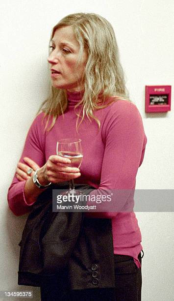 Cindy Sherman during Cindy Sherman Clown Series Exhibition Opening at Spruth Magers Lee Gallery in London Great Britain