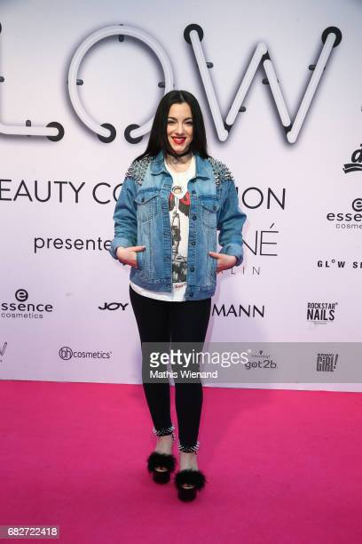 Cindy Snakes attends the GLOW The Beauty Convention on May 13 2017 in Duesseldorf Germany