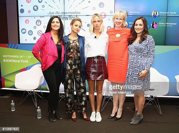 Cindy Whitehead, Nicole Richie, Misha Nonoo, Allie Kline, Farnoosh Tarobi attend Breaking the Mold at Thomson Reuters during 2016 Advertising Week...