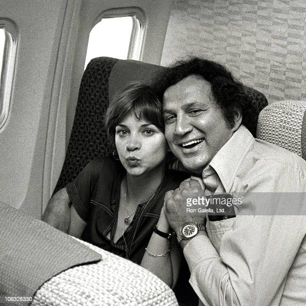 Cindy Williams and Ron Galella during Cindy Williams Sighting at Los Angeles International Airport June 2 1977 at Los Angeles International Airport...