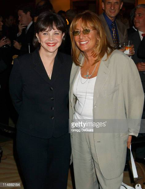 Cindy Williams & Penny Marshall during 29th Annual Dinner Of Champions Honoring Bob and Harvey Weinstein at Century Plaza Hotel in Los Angeles,...
