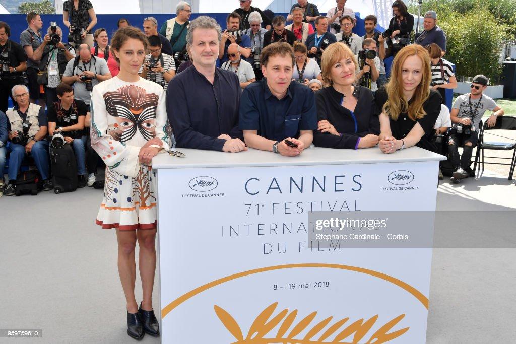 Jury La Cinefondation Et Des Court Metrages Photocall - The 71st Annual Cannes Film Festival : News Photo