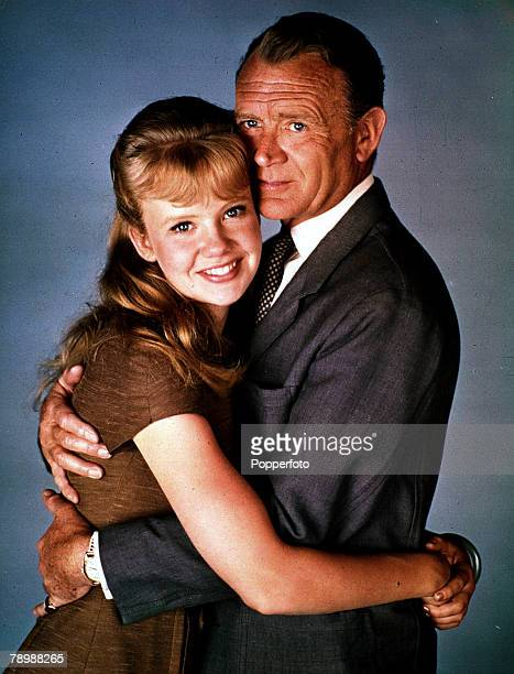Cinema Celebrity family actress Hayley Mills with her actor father Sir John Mills 1964