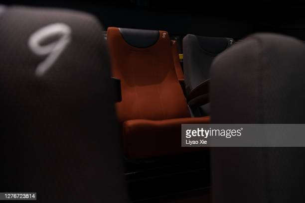 cinema during coronavirus - liyao xie stock pictures, royalty-free photos & images