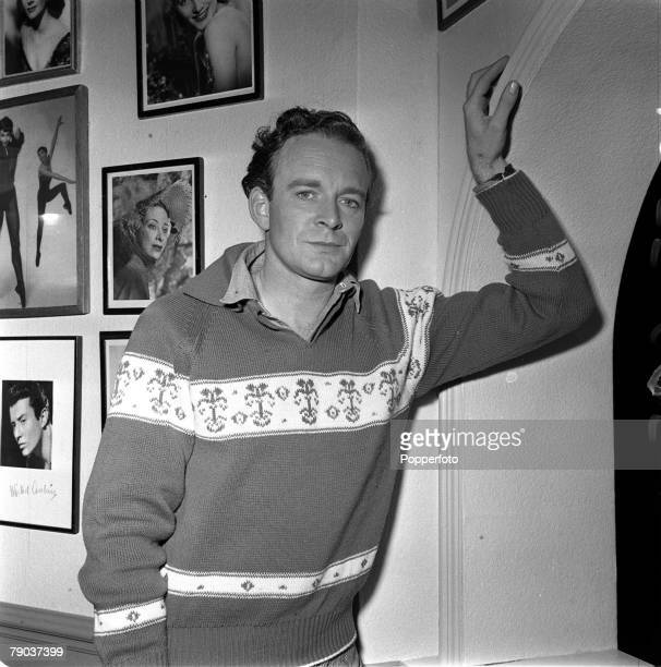 Cinema England British actor Tony Britton is pictured on the set of the film Loser Takes All