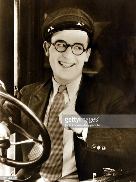 Cinema Film Actors A picture of the American screen star Harold Lloyd