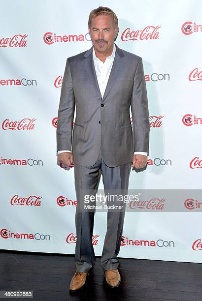Cinema Icon Award winner Kevin Costner attends The CinemaCon Big Screen Achievement Awards brought to you by The CocaCola Company during CinemaCon...
