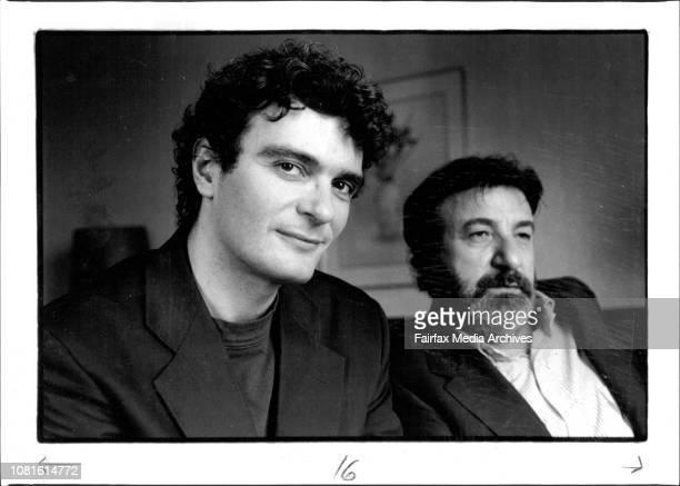 Cinema Italia 93A celebration of Italian Cinema Directors Mario Martone Gianni Amelio At the Hilton HotelIn search of realism Mario Martone and...