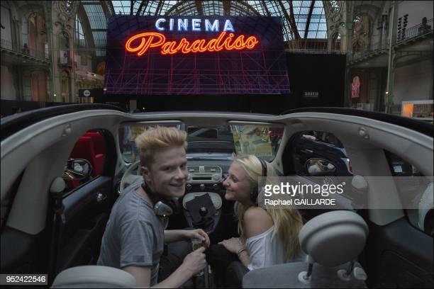 Cinema Paradisio au grand Palais le 20 Juin 2013 26 films projetes 2 voire 3 films par soirees a Paris en France Confortablement installes dans des...