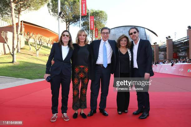 Cinema Per Roma General Manager Francesca Via Artistic Director of Festival Antonio Monda Vice President of Fondazione Cinema Per Roma Laura Delli...