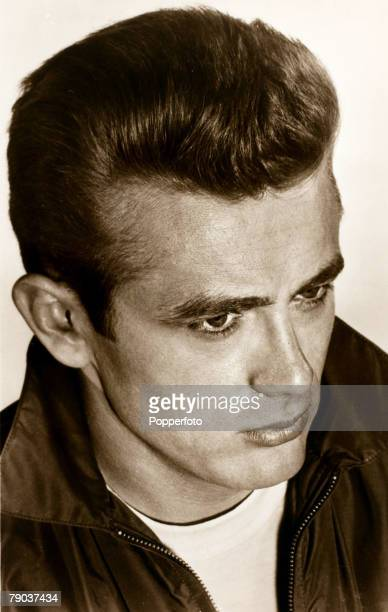 Cinema Personalities 1950's American film star James Dean tragically killed in a car accident in 1955 and perhaps best remembered for the film Rebel...