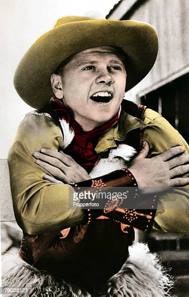 Cinema Personalities circa 1930's American actor Mickey Rooney portrait who was a child star and played alongside Judy Garland in 1930's productions...