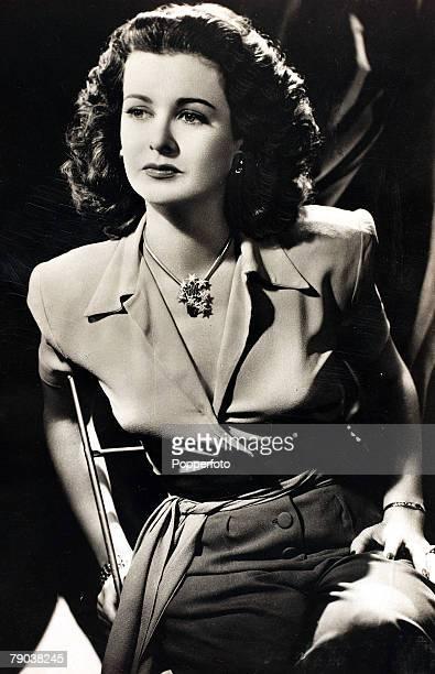 Cinema Personalities circa 1930's American actress Joan Bennett portrait