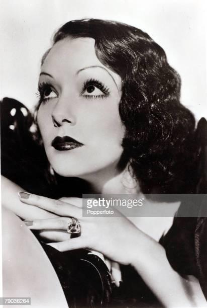 Cinema Personalities circa 1940 Mexico born actress Lupe Velez portrait