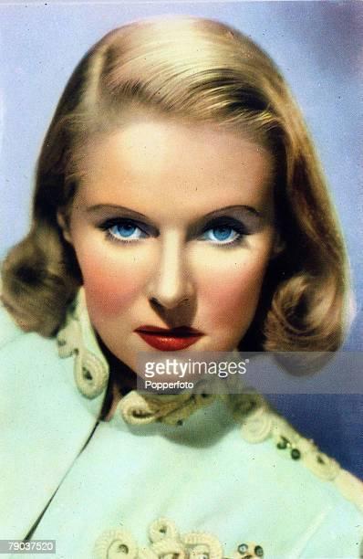 Cinema Personalities circa 1940s Ann Todd English actress portrait