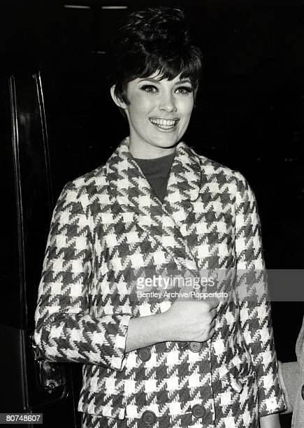 Cinema Personalities England Beverly Adams Canadian born actress called at this time the prettiest girl in Hollywood pictured in London