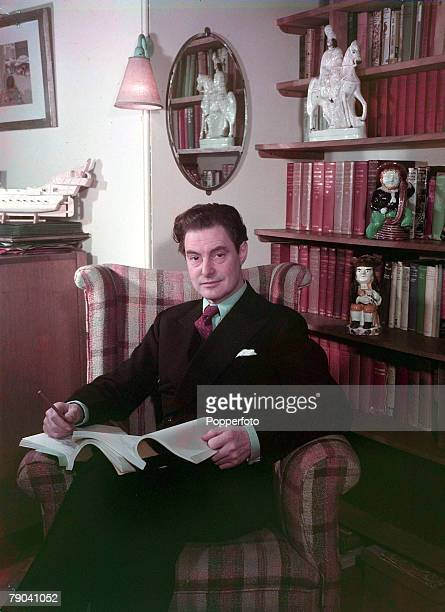 1949 A portrait of Robert Donat English actor and film star who won an Oscar in the 1939 film 'Goodbye MrChips'