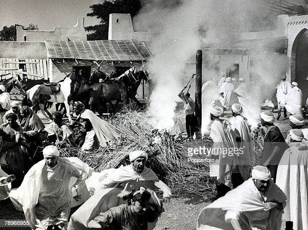 1958 English actress Anne Aubrey born 1937 in the film The Bandit of Zhobe in which she is about to be burnt at the stake In fact this scene nearly...
