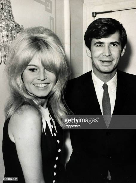 1963 French film actress Brigitte Bardot pictured in London with American film star Anthony Perkins Brigitte Bardot first appeared on screen in 1952...