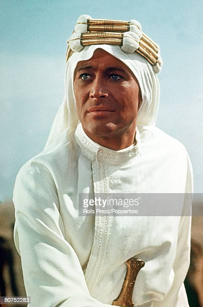 Cinema Personalities, pic: 1968, Actor Peter O'Toole as Lawrence of Arabia