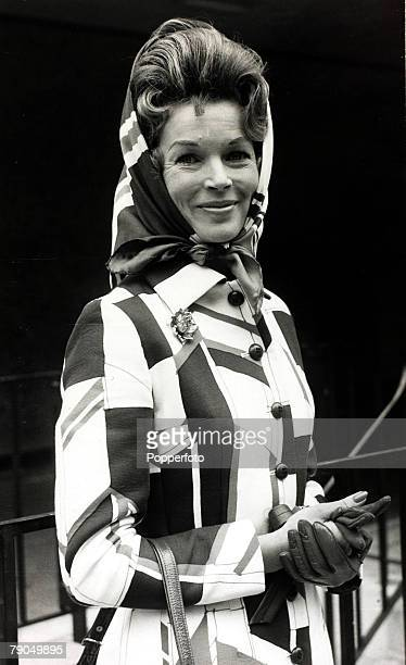 23rd April 1971 British actress Dawn Addams pictured at the age of 40 when she had obtained a Mexican divorce from her husband Prince Vittorio Massimo
