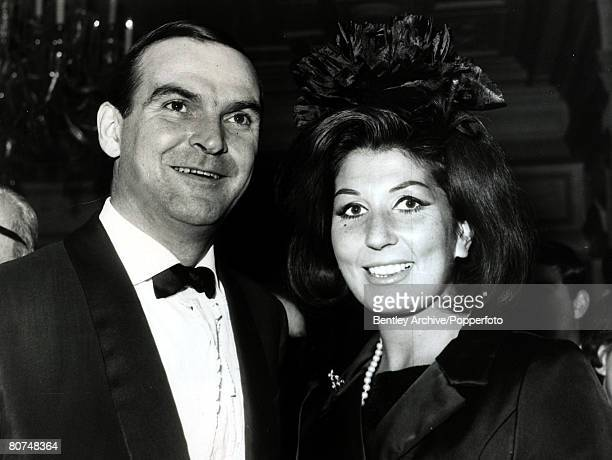 2nd December 1963 Welsh actor Stanley Baker pictured with British singing star Alma Cogan at a London film premiere Stanley Baker started making...