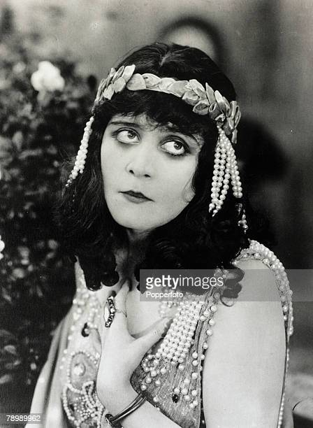 circa 1910's American actress Theda Bara