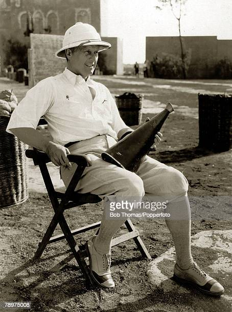 circa 1925 American DirectorGeneral Fred Niblo pictured while directing the film Ben Hur