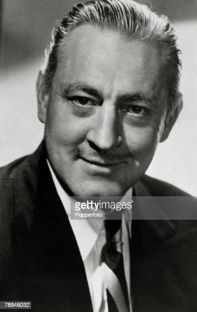 circa 1930 American actor John Barrymore a major star of films in the 1920's and 1930's who had a rapid rise to stardom and an equally rapid decline...