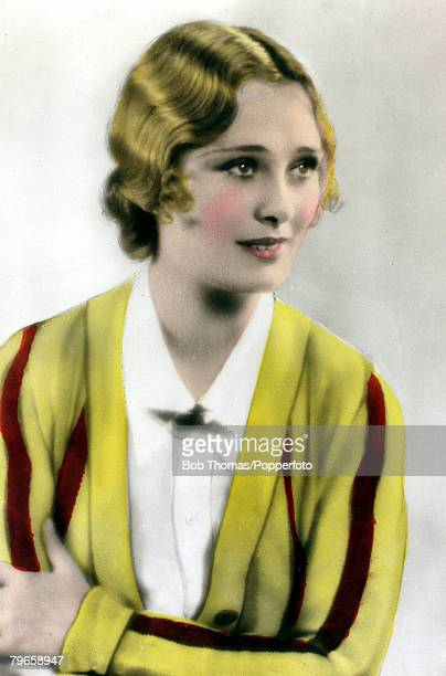 circa 1930 American actress Dolores Costello known as The Goddess of the Silent Screen and married to John Barrymore