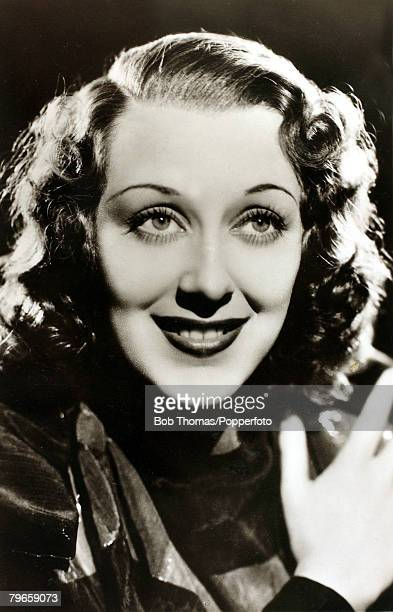 circa 1930's American actress Ann Dvorak who came to prominence in the 1932 film 'Scarface' During the war she drove an ambulance after coming to...