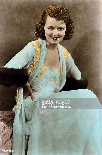 circa 1930's American actress Janet Gaynor who had a claim to fame in that she was the first to voted Best Actress at an Academy Awards ceremony...