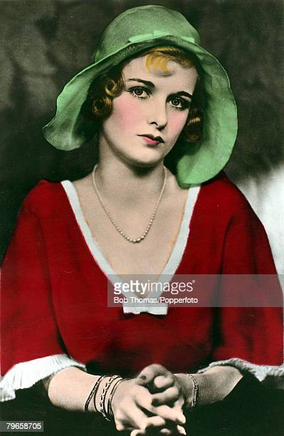 circa 1930's American actress Joan Bennett who had a long career as an actress from the late 1920's and through to television appearances in the...