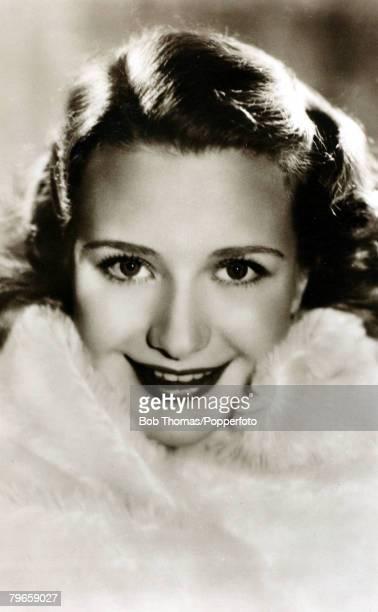 circa 1930's American actress Priscilla Lane