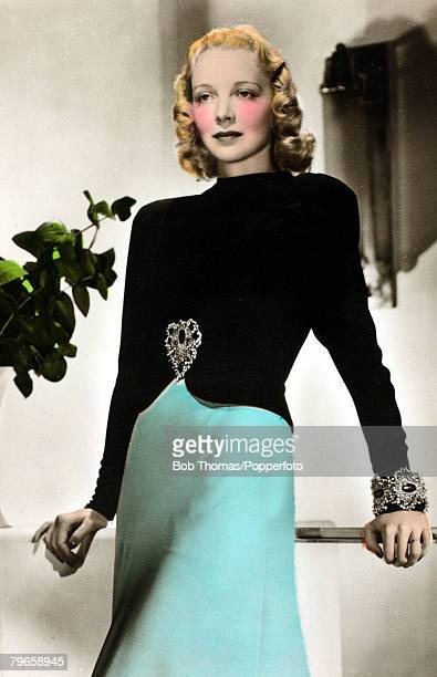 circa 1930's American actress Virginia Bruce a leading lady in American films during the 1930's and 1940's