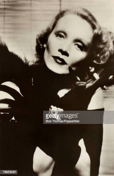 circa 1930's German born film actress Marlene Dietrich who later became an American citizen Marlene Dietrich was a cabaret singer in the 1920's and...