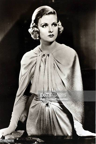 circa 1935 American actress Joan Bennett who had a long career as an actress from the late 1920's and through to television appearances in the early...